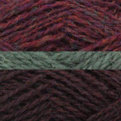 239 Purple Heather, 766 Sage, 248 Havana
